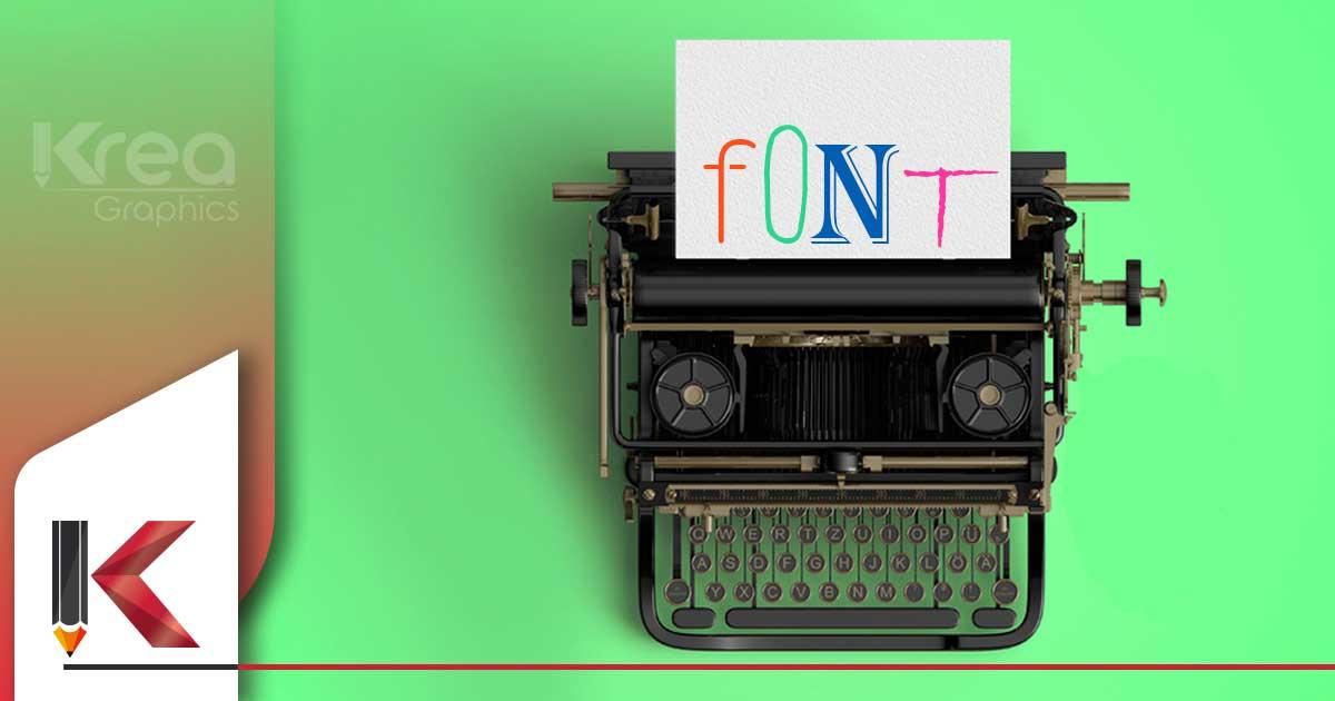 Che cos'è un font